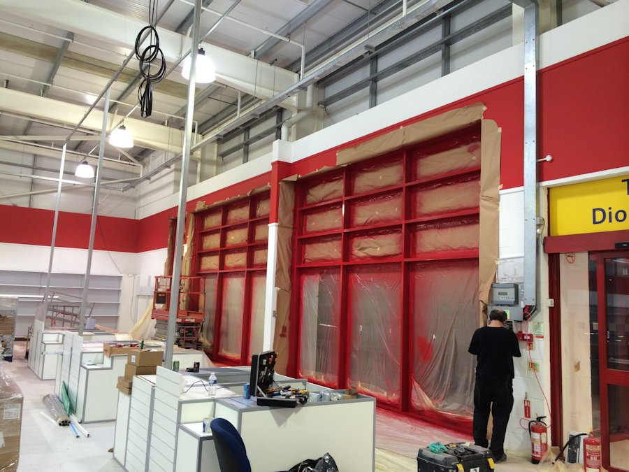 Curtain Walling Kolorspray Wall Cladding North East
