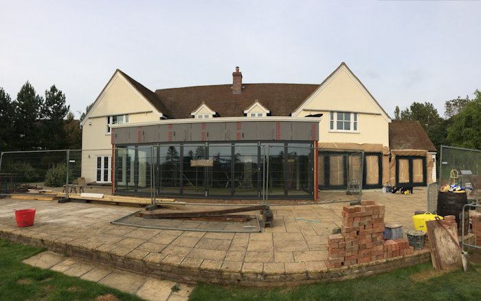 Residential Kolorspray Wall Cladding North East